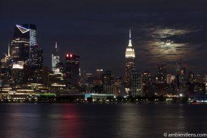 Moonrise over Manhattan, New York 2