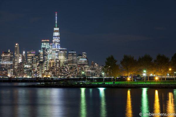 Lower Manhattan and Hoboken at Night 1