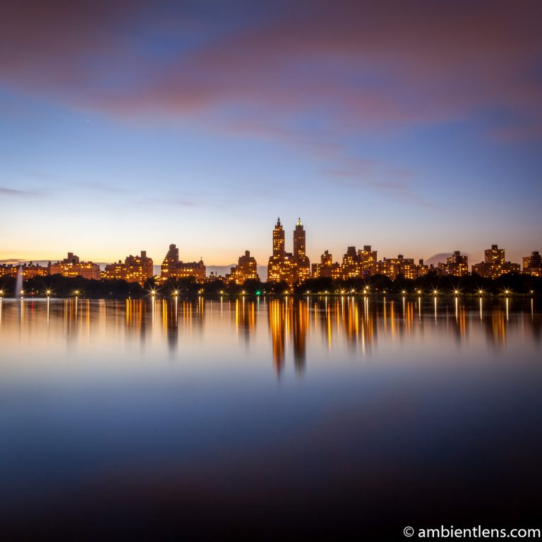 Jacqueline Kennedy Onassis Reservoir and West Side Buildings 3 (