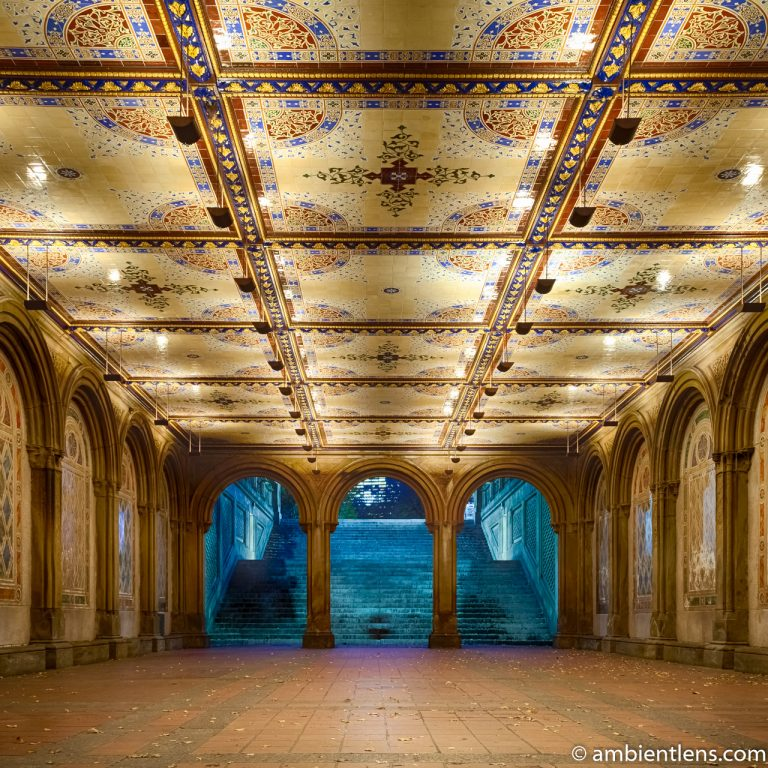 The Interior of Central Park's Bethesda Terrace 2 (SQ)
