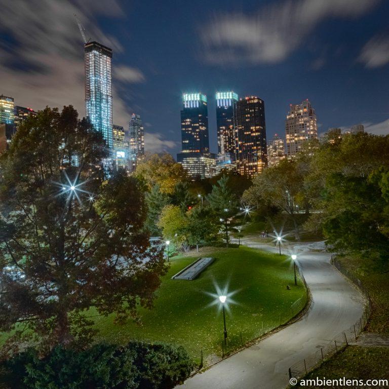 Central Park at Night 1 (SQ)