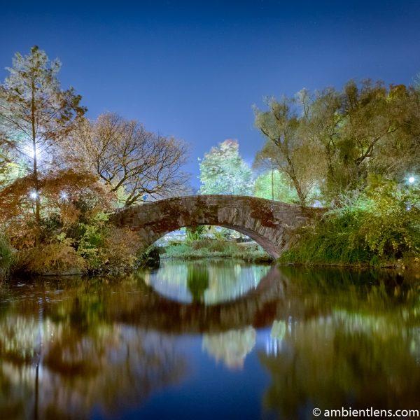 Central Park's Gapstow Bridge at Night 3 (SQ)