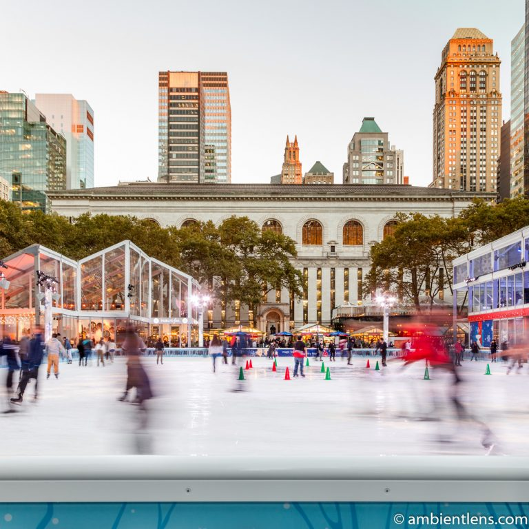 Bryant Park Skating Rink, New York (SQ)