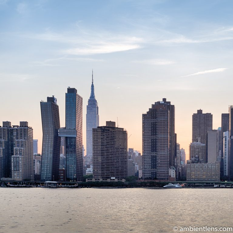 Midtown Manhattan and the East River at Sunset 7 (SQ)