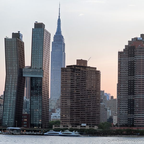 Midtown Manhattan and the East River at Sunset 8 (SQ)