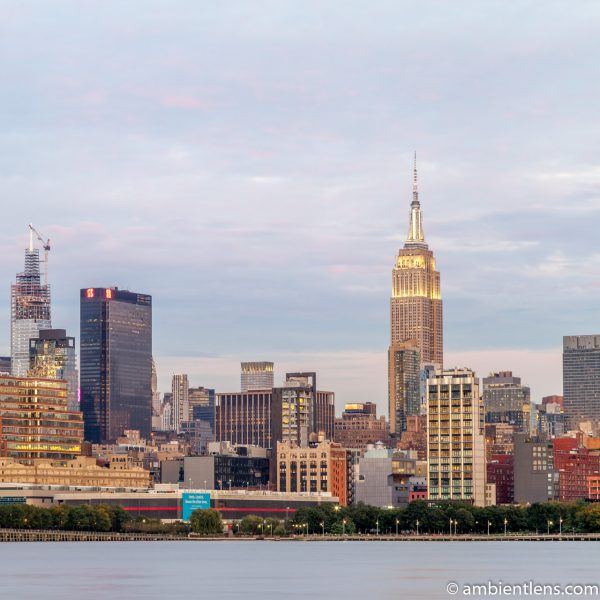 Midtown Manhattan and the Hudson River at Sunset 5 (SQ)