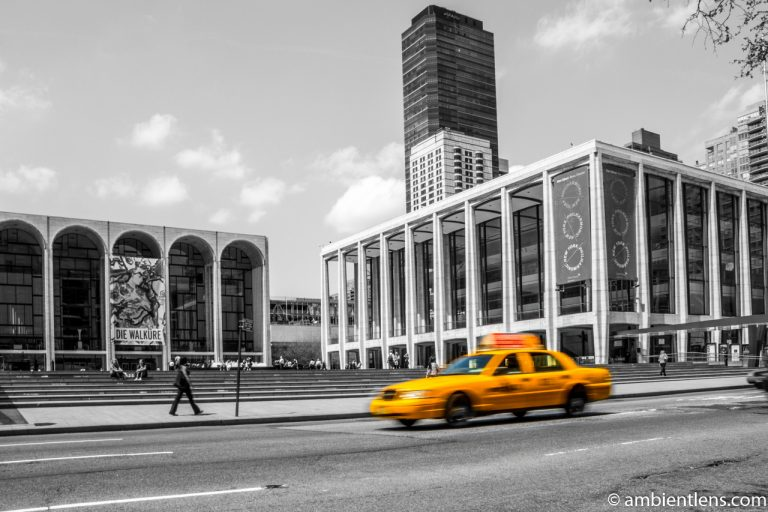 Yellow Cab at Lincoln Center, New York 1
