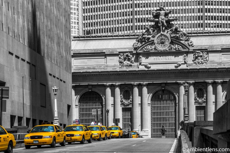 Yellow Cabs by Grand Central Station, New York 2