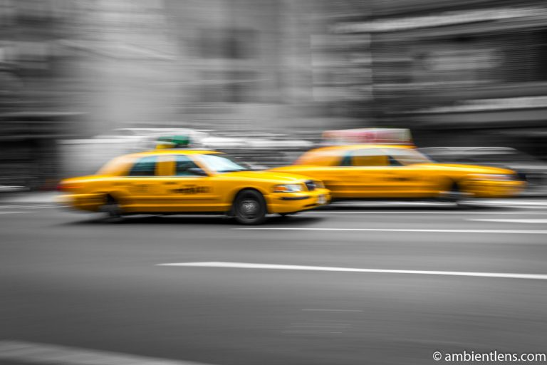 Yellow Cabs in New York 1