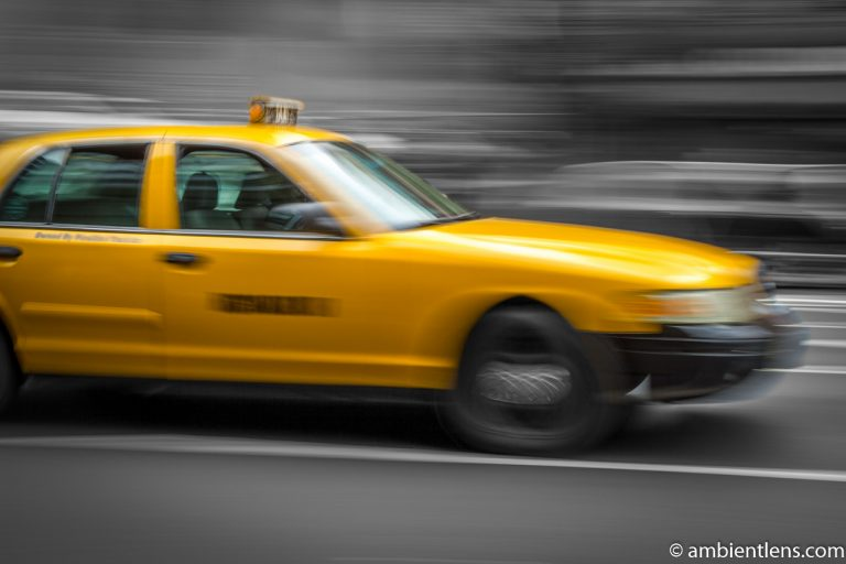 Yellow Cab in New York 2