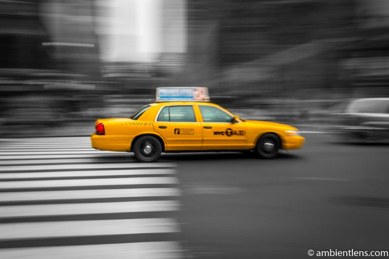 Yellow Cab in New York 3