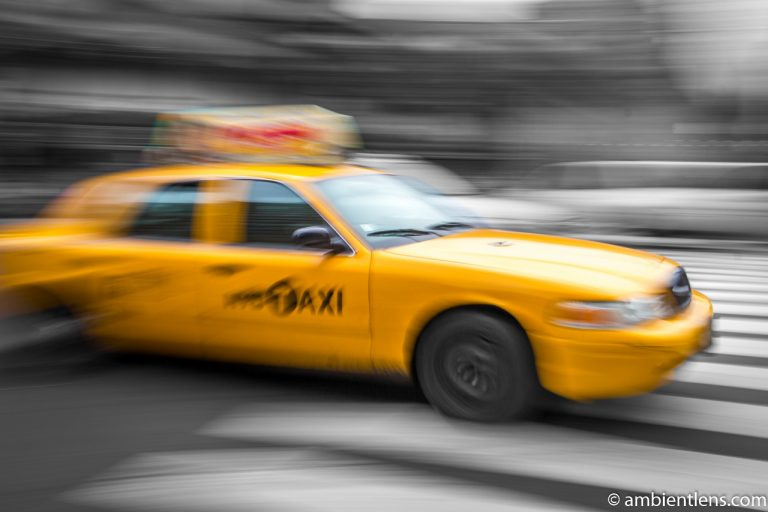 Yellow Cab in New York 4