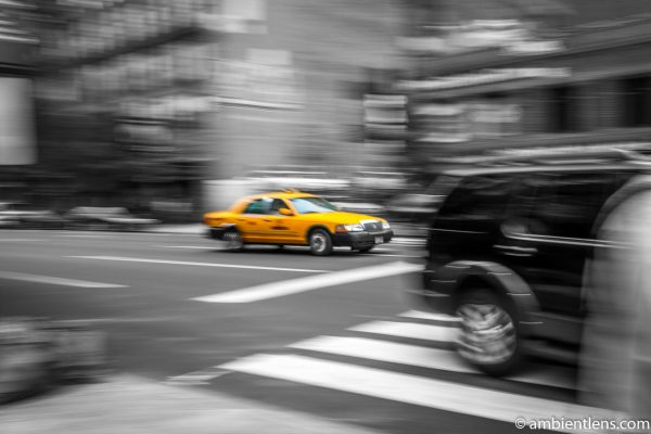 Yellow Cab in New York 5