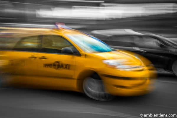 Yellow Cab in New York 7