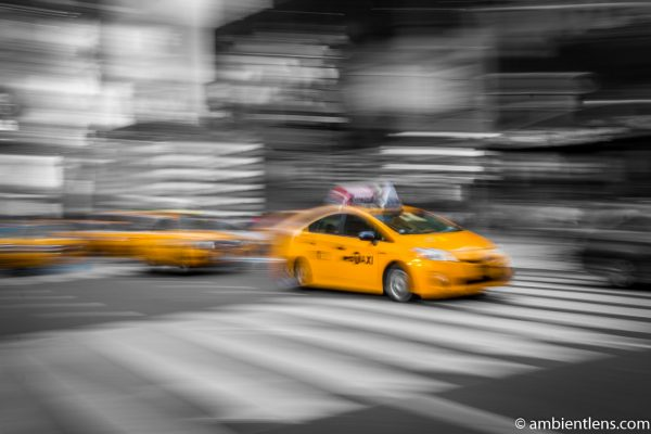 Yellow Cabs in New York 8