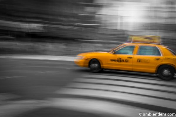 Yellow Cab in New York 9
