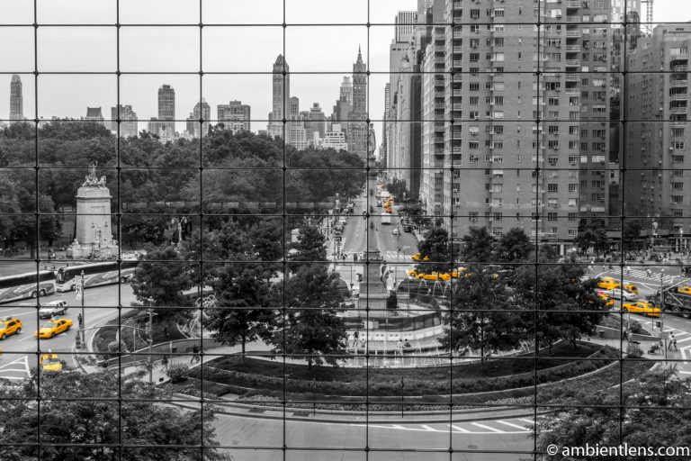 Yellow Cabs at Columbus Circle, New York 5