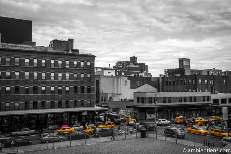 Yellow Cabs in Chelsea, New York 2