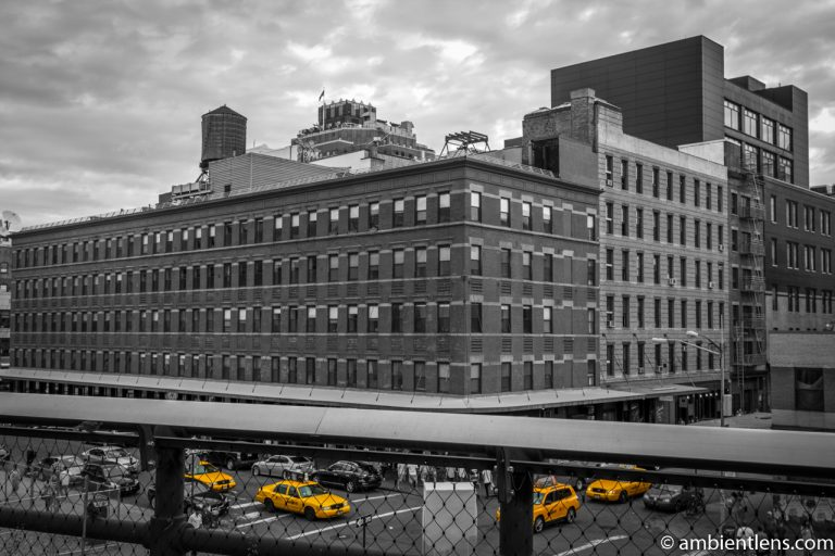 Yellow Cabs in Chelsea, New York 3