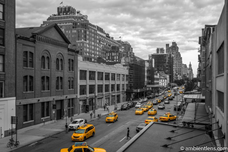 Yellow Cabs in Chelsea, New York 6
