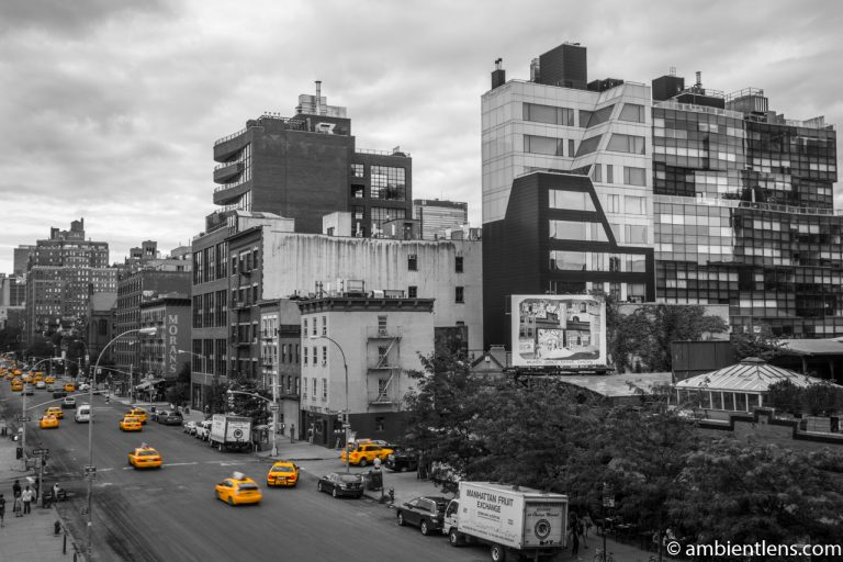 Yellow Cabs in Chelsea, New York 7