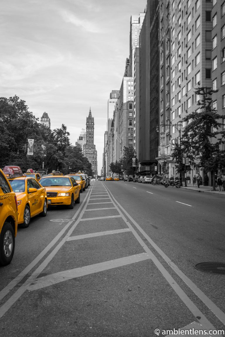 Yellow Cabs on 59th Street, New York 1
