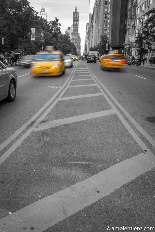 Yellow Cabs on 59th Street, New York 2