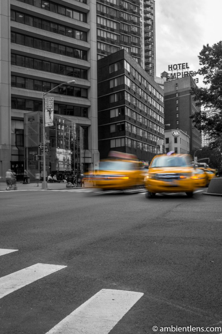Yellow Cabs on Broadway, New York 1