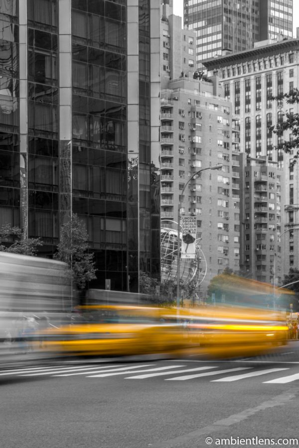 Yellow Cabs on Broadway, New York 2