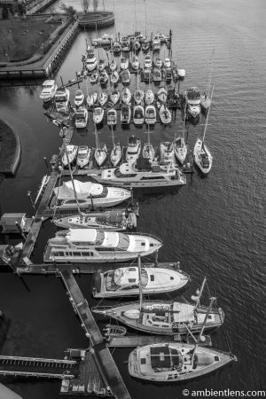 Boats in Vancouver 2 (BW)