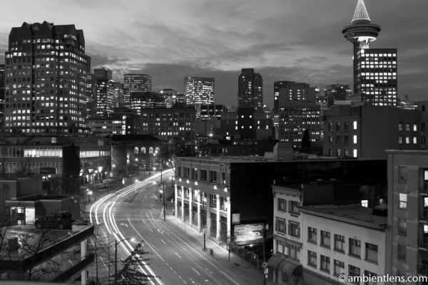 Pender Street, Vancouver, BC (BW)