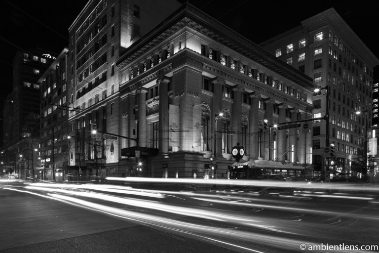 Birk's Building, Vancouver, BC (BW)