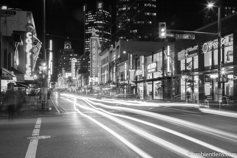 Granville Street, Vancouver, BC (BW)