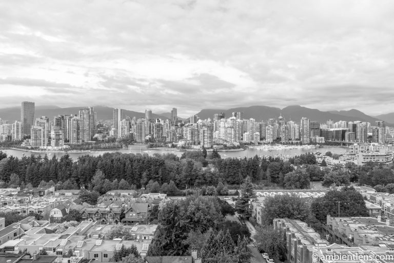 City of Vancouver, BC, Canada 3 (BW)