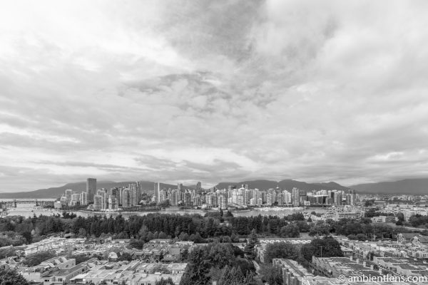 City of Vancouver, BC, Canada 2 (BW)