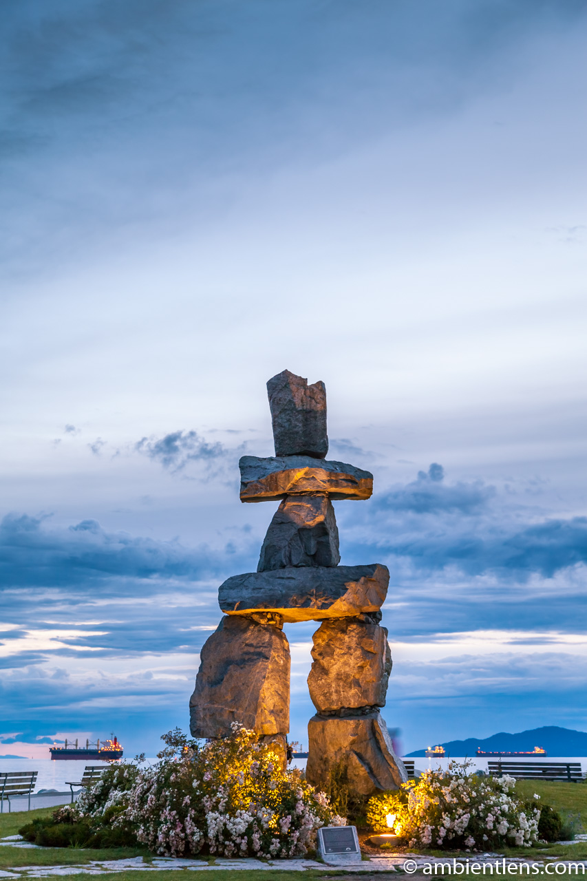 English Bay Inukshuk 4