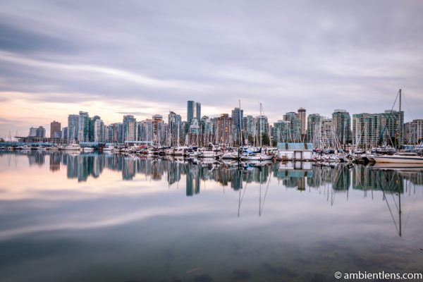 Reflection of Downtown Vancouver 1