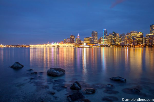 Downtown Vancouver at Night 2
