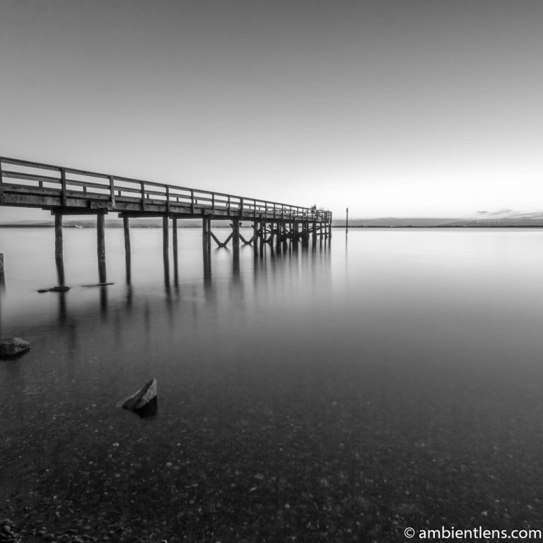 The Pier at Crescent Beach, White Rock, BC, Canada 6 (BW SQ)