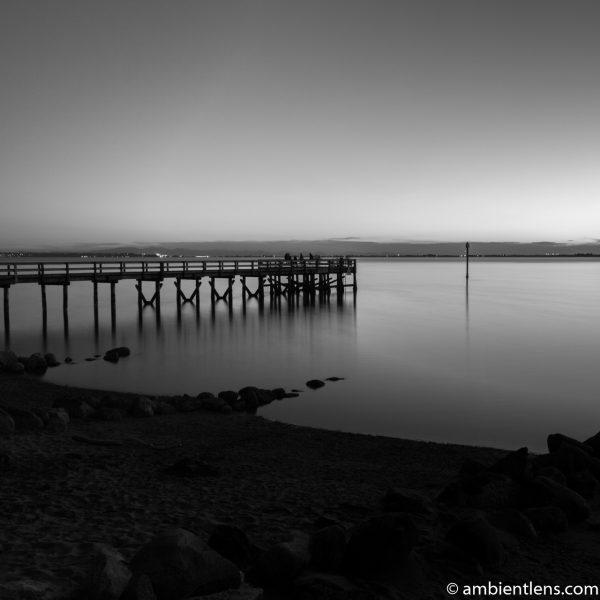 The Pier at Crescent Beach, White Rock, BC, Canada 10 (BW SQ)
