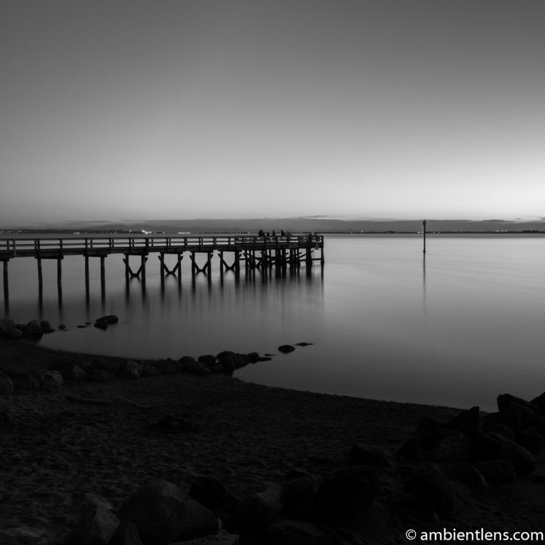 The Pier at Crescent Beach, White Rock, BC, Canada 10 (BW SQ)