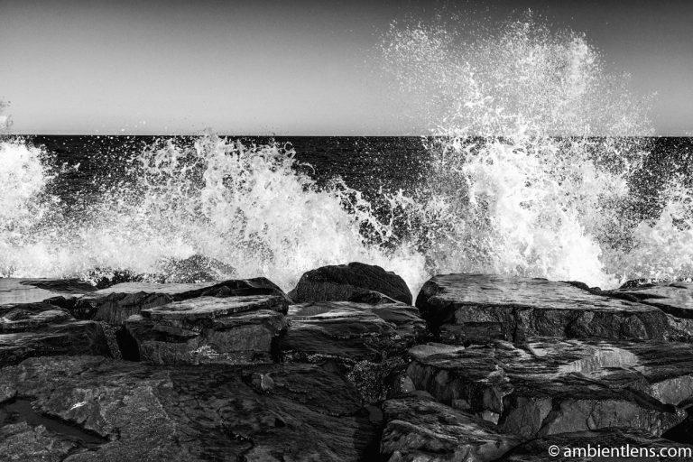 Ocean Spray (BW)