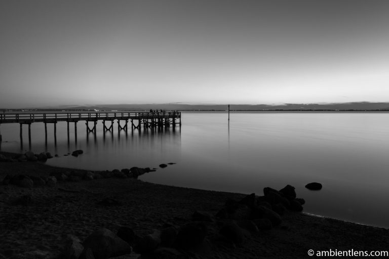 The Pier at Crescent Beach, White Rock, BC, Canada 10 (BW)