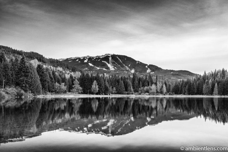 Lost Lake, Whistler, BC, Canada 1 (BW)