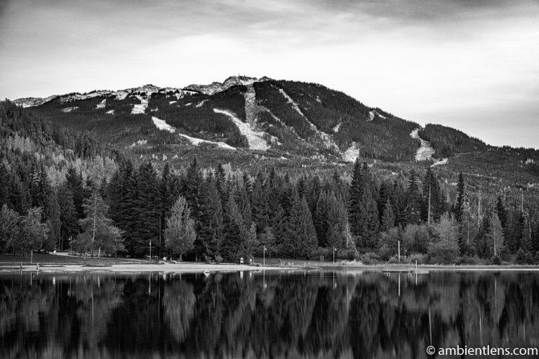Lost Lake, Whistler, BC, Canada 2 (BW)