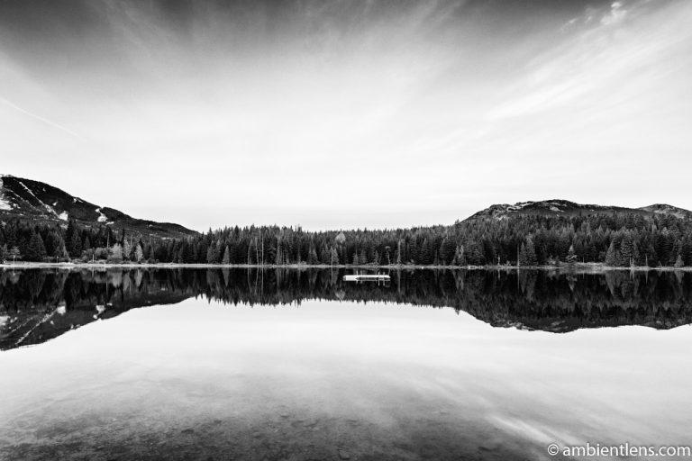 Lost Lake, Whistler, BC, Canada 4 (BW)