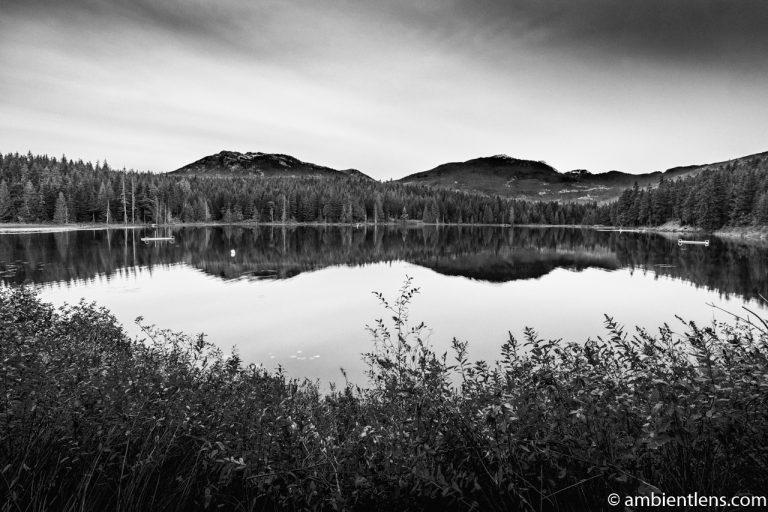 Lost Lake, Whistler, BC, Canada 5 (BW)