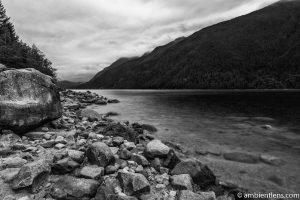 Alouette Lake, Maple Ridge, BC (BW)