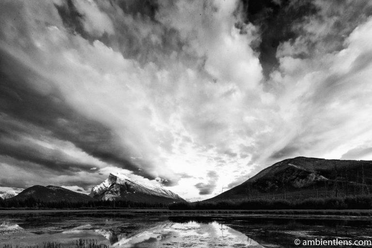 Mount Rundle, Banff, Alberta 4 (BW)