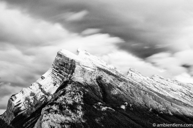 Mount Rundle, Banff, Alberta 5 (BW)